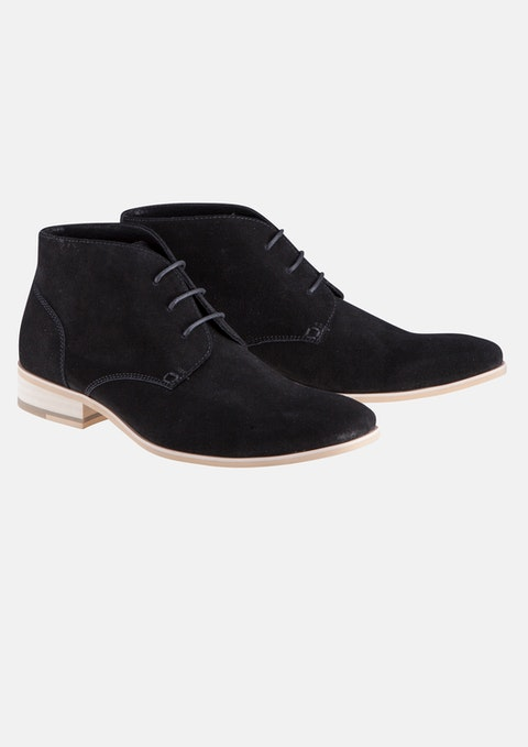 Black Tyler Desert Boot