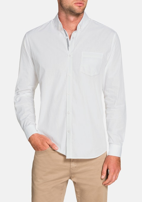 White Cool Cotton Shirt