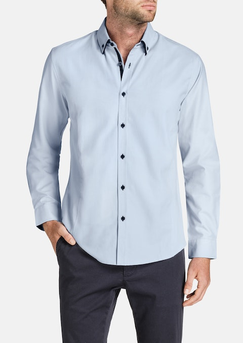 Sky Charlie Textured Shirt