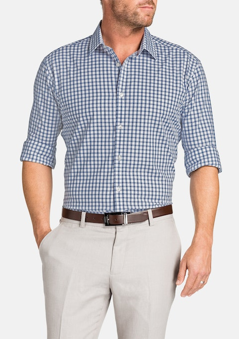 Indigo Ali Check Shirt