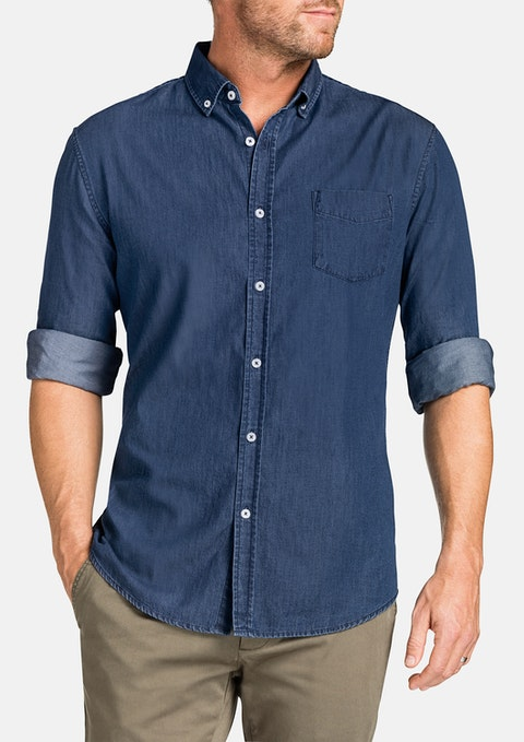 Indigo Antwerp Denim Shirt