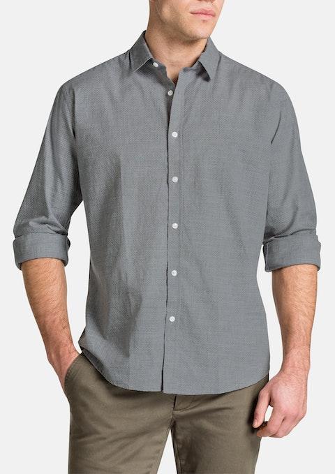 Grey Trinity Print Shirt
