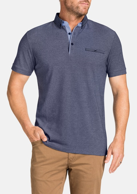 Navy Jayden Polo