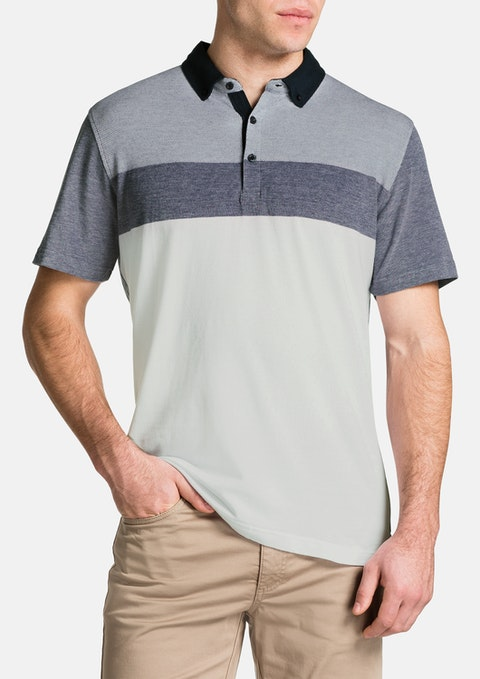 Navy Thornton Polo