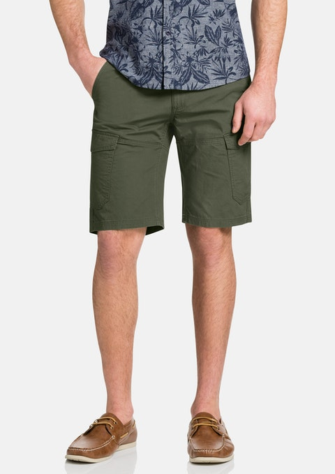 Khaki Pincer Cargo Short