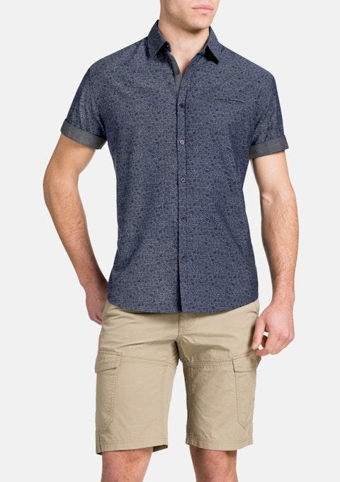 Indigo Floral Indigo Shirt
