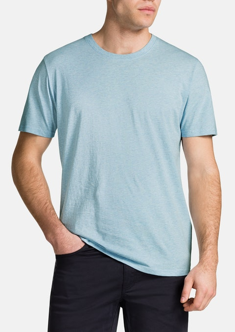 Sky Marle Essential Crew Neck Tee