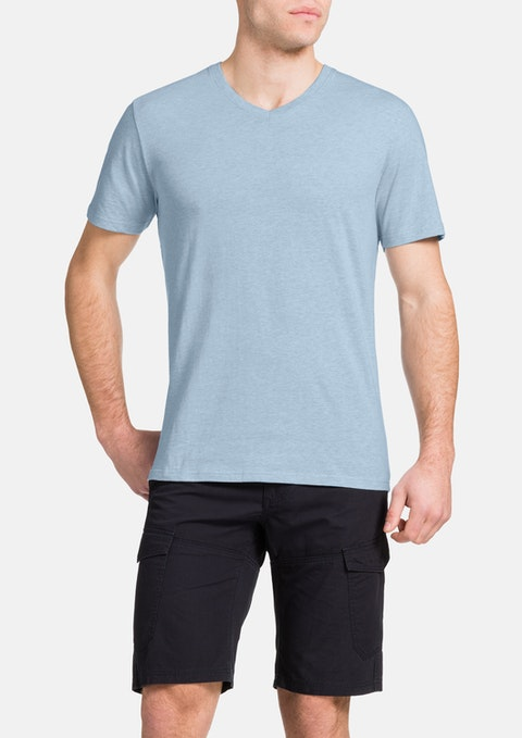 Sky Marle Essential V-neck Tee