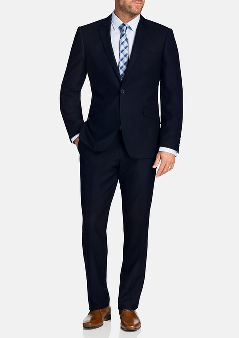 Midnight Alridge 2 Button Suit