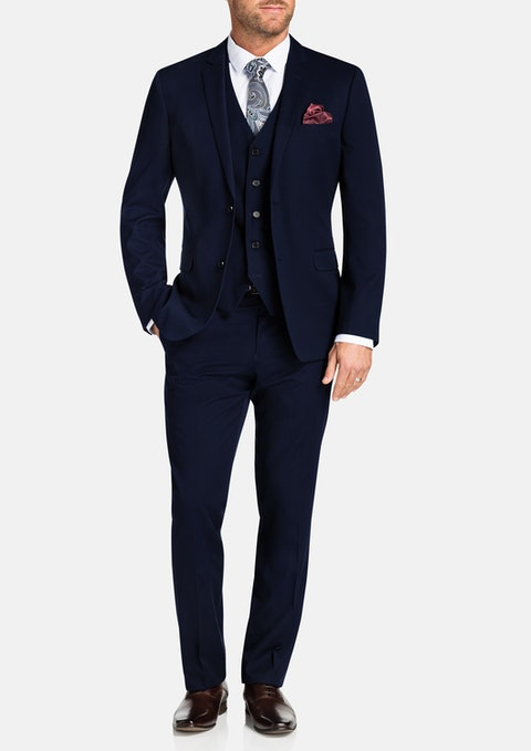 Royal Reddick 2 Button Suit