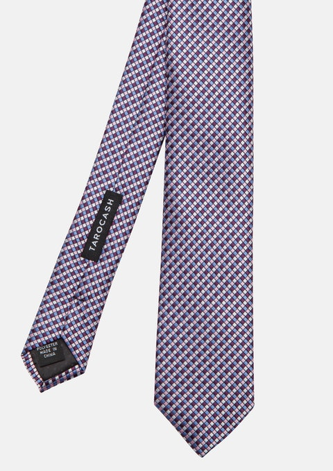 Lilac Micro Texture Tie