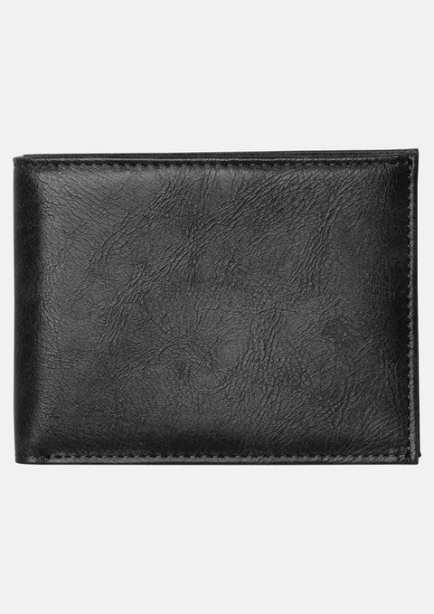 Black Bi Fold Wallet