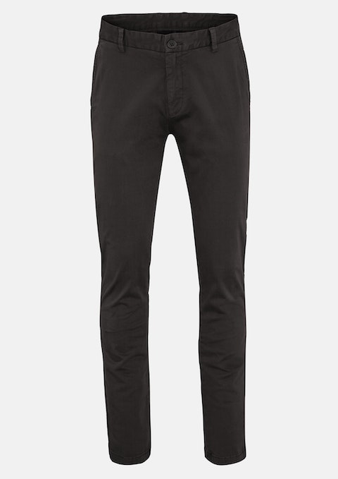 Charcoal Tom Side Pkt Stretch Pant