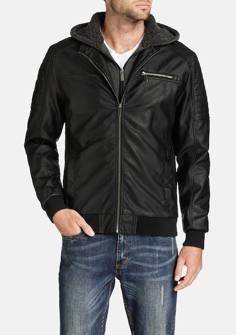 Black Morrow Biker Jacket