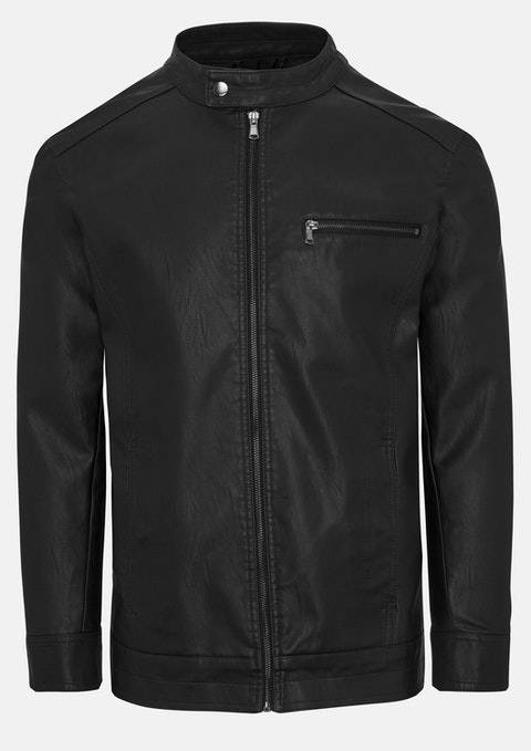 Black Solo Bomber Jacket