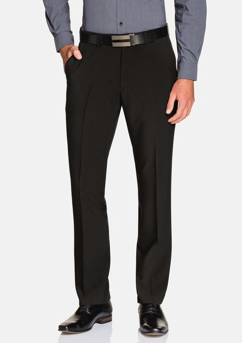 Black Melvin Stretch  Pant
