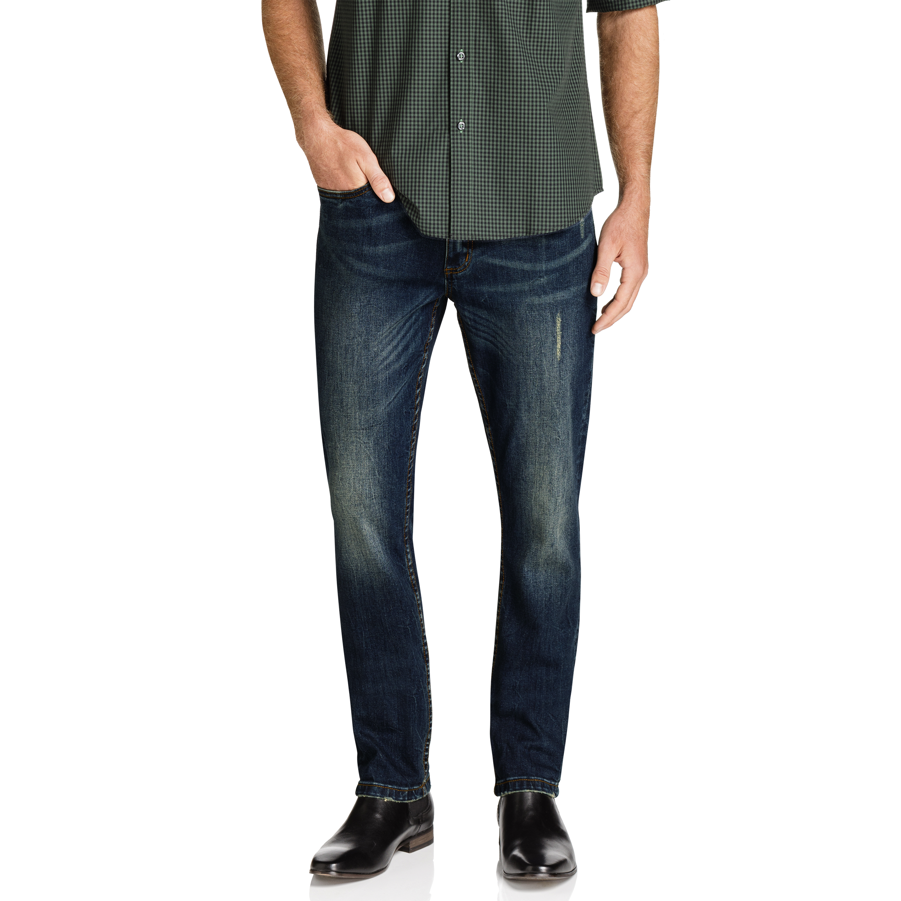 ADDISON REGULAR STRETCH JEAN | Tuggl
