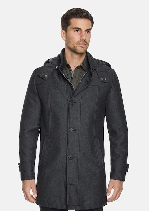 Charcoal Wales Coat
