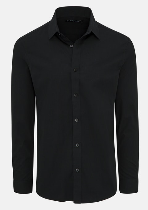 Black Edgar Dress Shirt