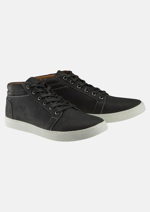 Black Hawk High Top Shoe
