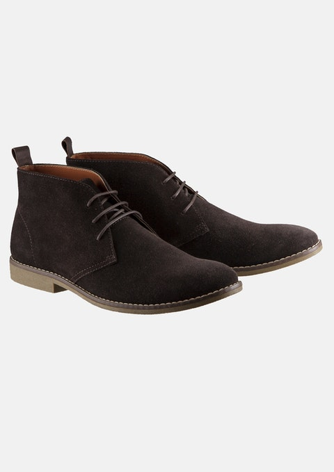 Chocolate Radar Desert Boot