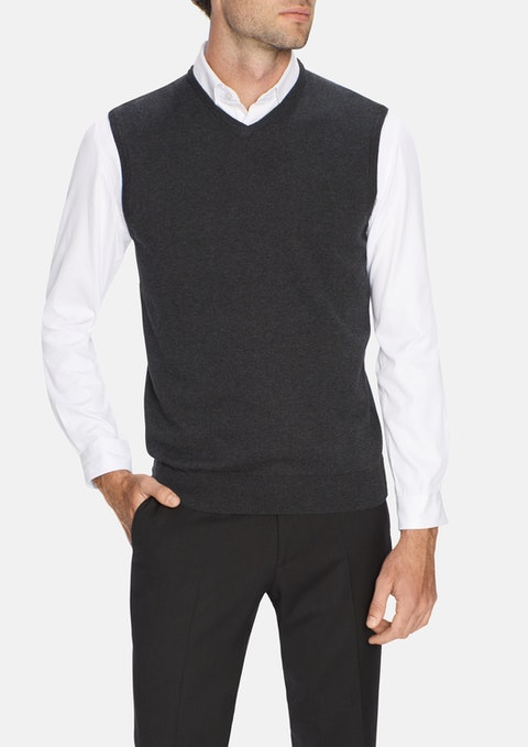 Charcoal Essential Vest