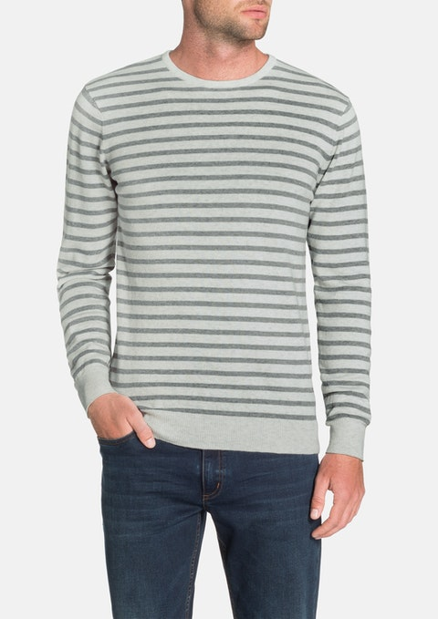 Ice Braydon Stripe Knit