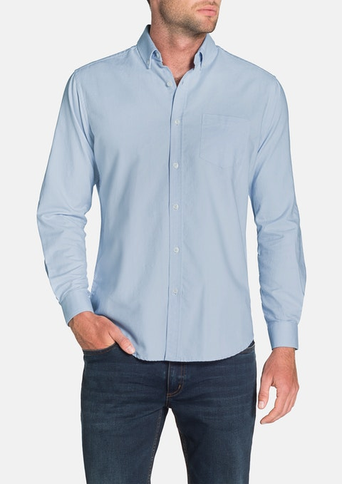 Sky Essential Oxford Shirt