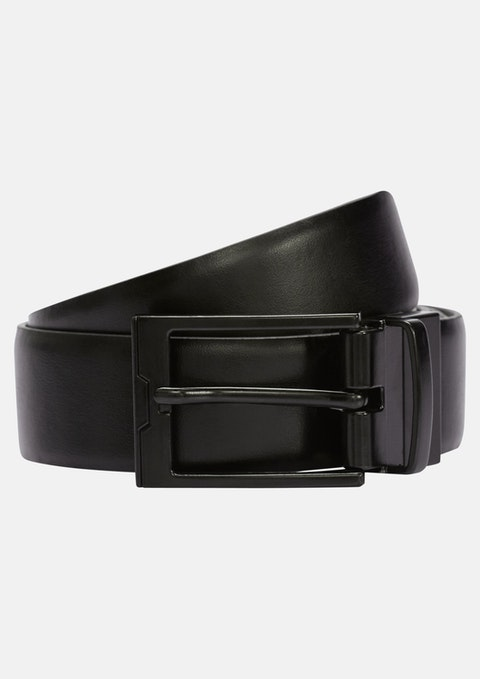 Black/brown Dante Reversible Prong Belt