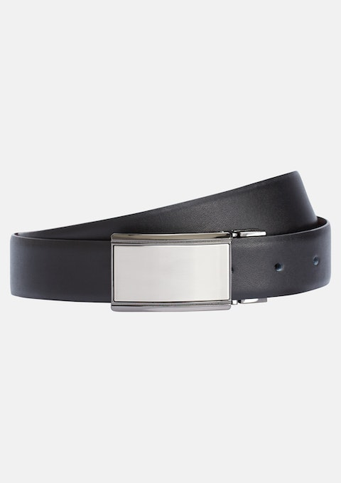 Black/choc Warhol Reversible Belt