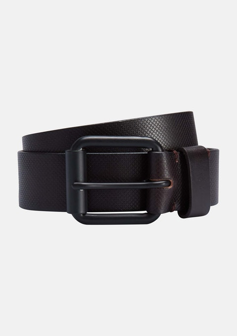 Chocolate Johnny Leather Belt