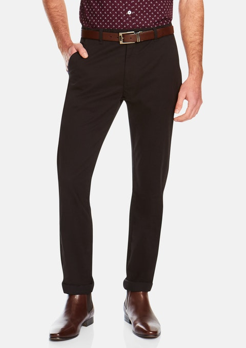 Black Springer Stretch Pant