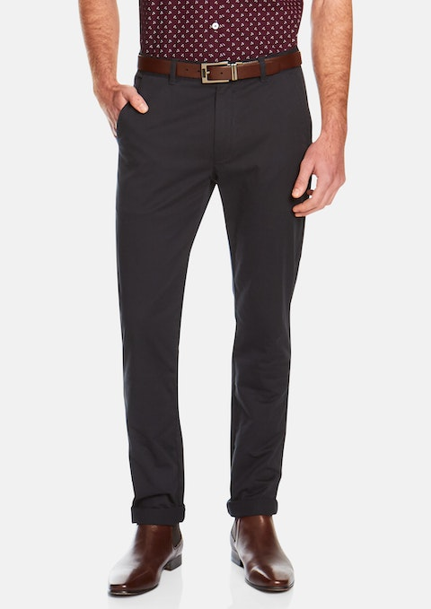 Navy Springer Stretch Pant