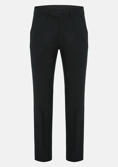 Black Vice Textured Pant