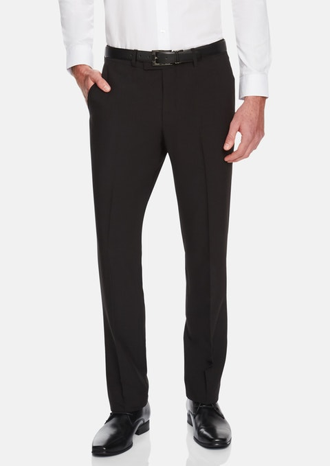 Black Eugene Stretch Pant