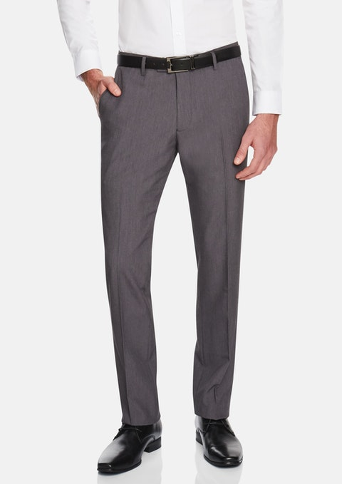 Charcoal Eugene Stretch Pant