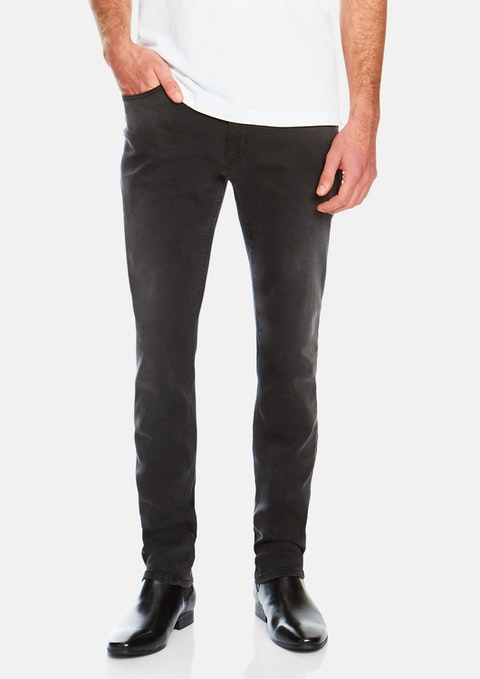 Grey Dylan Tapered Jean