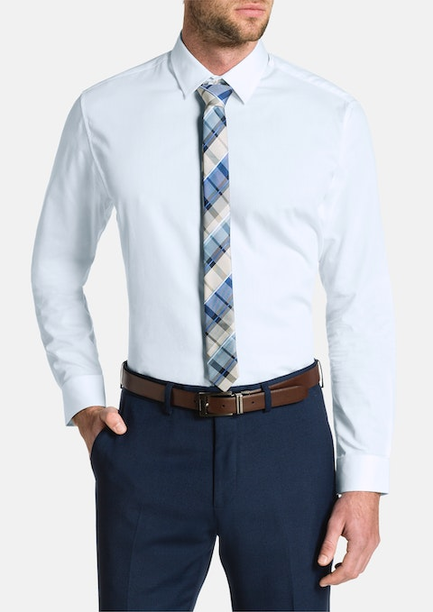 White Dominic Dress Shirt