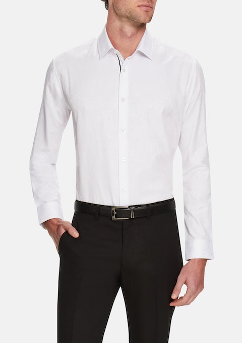 White Toronto Dress Shirt