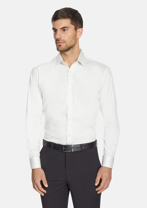Ivory Slim Occasion Shirt