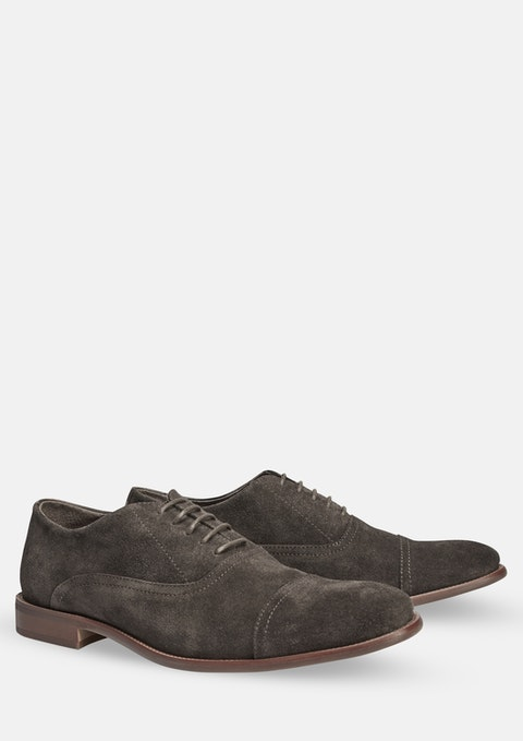 Chocolate Graham Suede Shoe