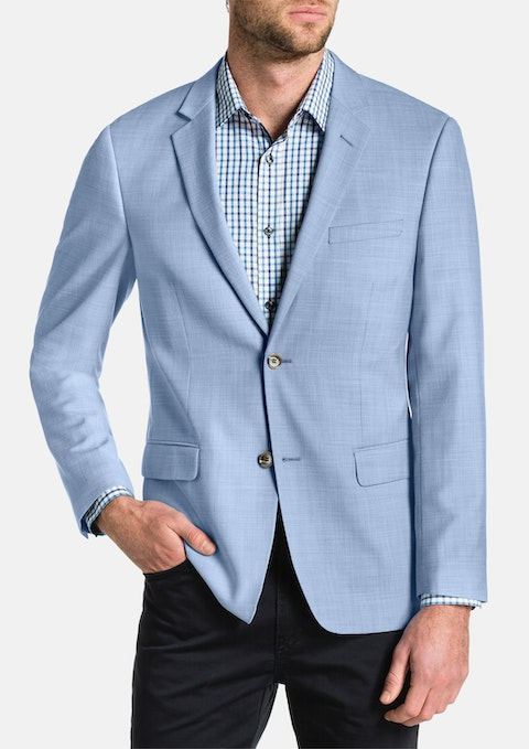 Sky Breeze Textured Blazer