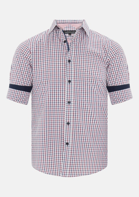 Musk Kenneth Check Shirt