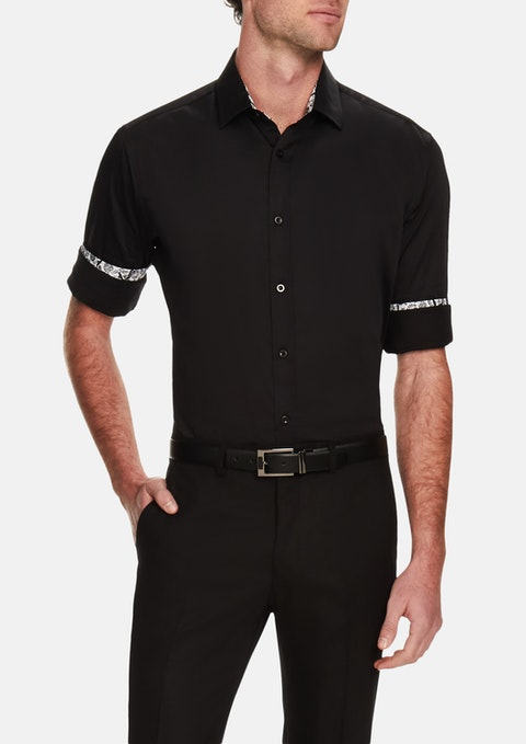 Black Bossanova Stretch Shirt