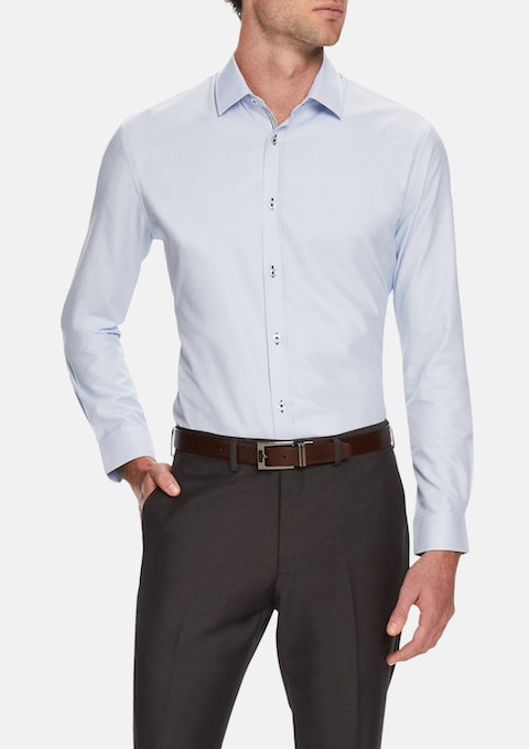 Sky Ford Slim Textured Shirt