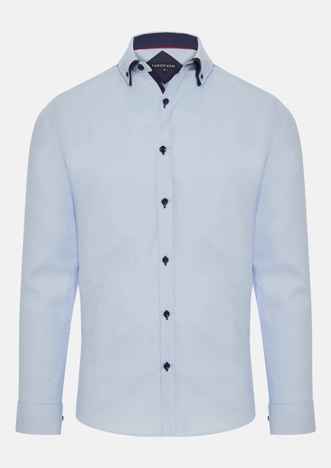 Sky Emilio Textured Shirt