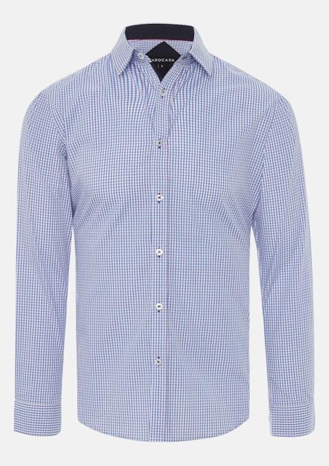 Blue Nelson Check Shirt