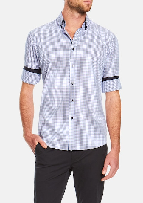 Lilac Smithson Slim Check Shirt