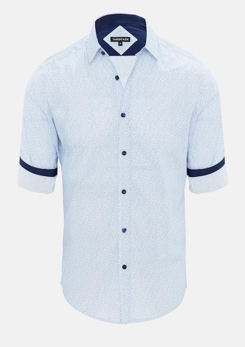 Blue Pascale Floral Shirt