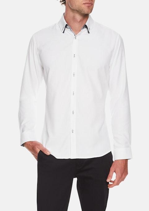 White Romeo Textured Shirt